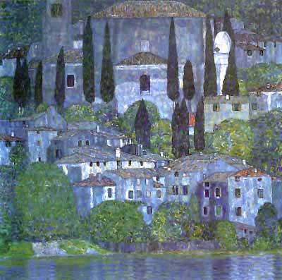 Church in Cassone - Gustav Klimt