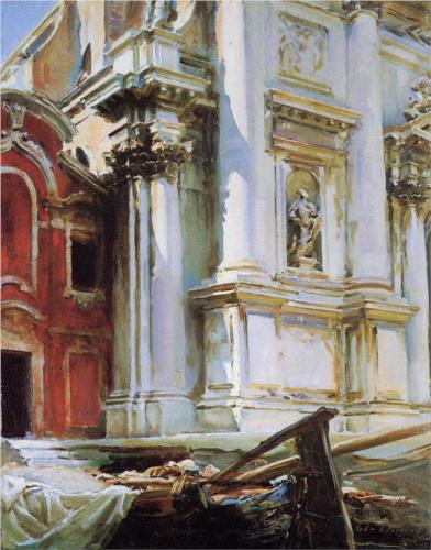 Church of San Stae, Venice - John Singer Sargent