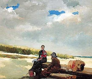 Cloud Shadows - Winslow Homer