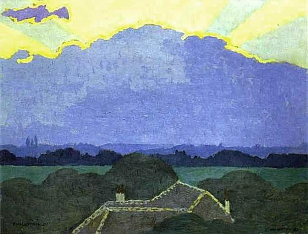 Cloud in Romanel - Felix Vallotton