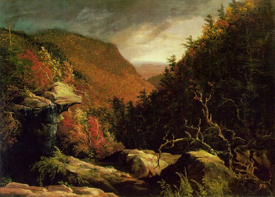 The Clove, Catskills - Thomas Cole