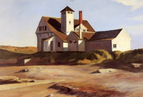 Coast Guard Station - Edward Hopper