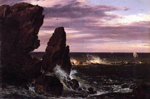 Coast Scene - Frederic Edwin Church