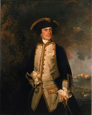 Commodore August Keppel - Joshua Reynolds