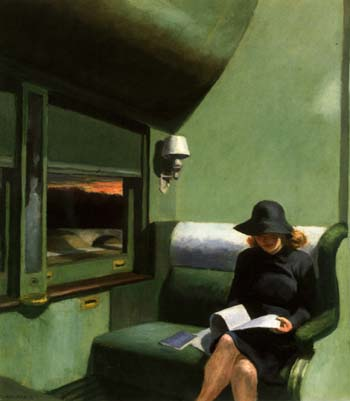 Compartment C Car - Edward Hopper