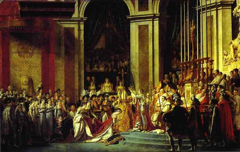 Consecration of Emperor Napoleon - Jacques Louis David