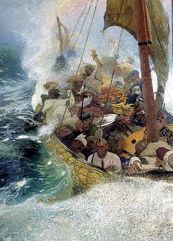 Cossacks on the Black Sea - Ilya Repin