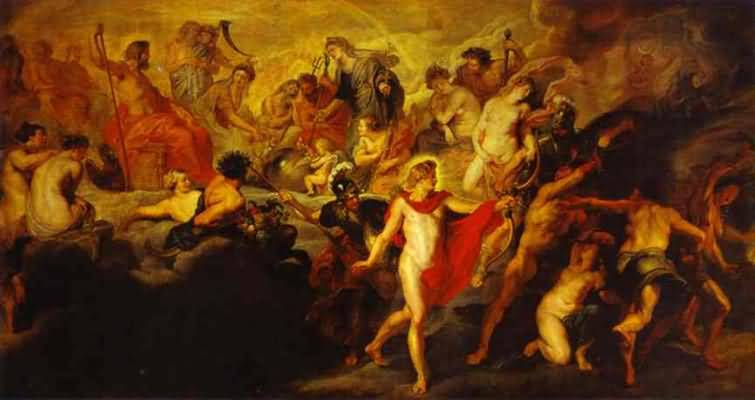 Council of the Gods - Peter Paul Rubens