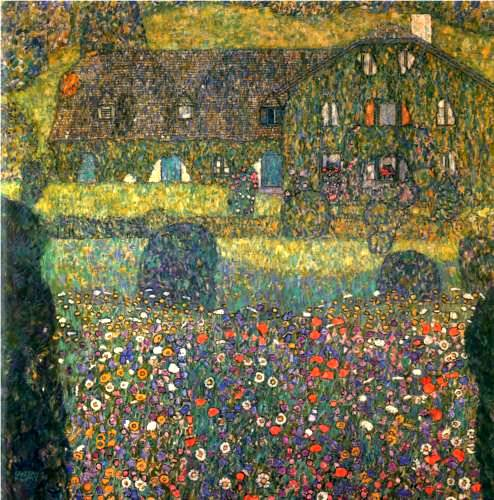 Country House by the Attersee - Gustav Klimt