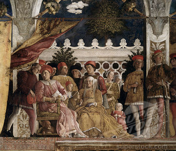 Court of Mantua - Andrea Mantegna