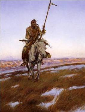 Cree Indian - Charles Marion Russell