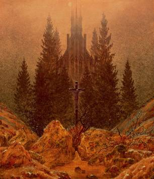 Cross in the Mountains - Caspar David Friedrich