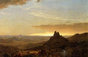 Cross in the Wilderness - Frederic Edwin Church