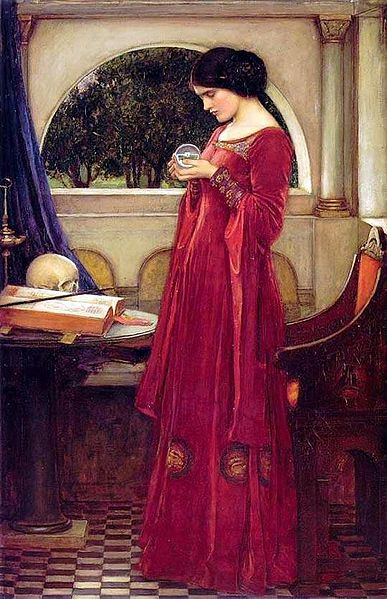 Crystal Ball - John William Waterhouse