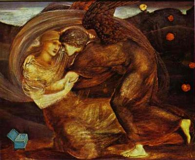 Cupid Delivering Psyche - Edward Coley Burne Jones