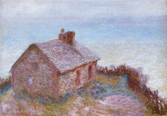 Customs House at Varengeville - Claude Monet