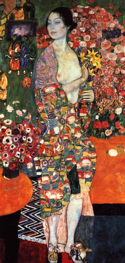 Dancer - Gustav Klimt
