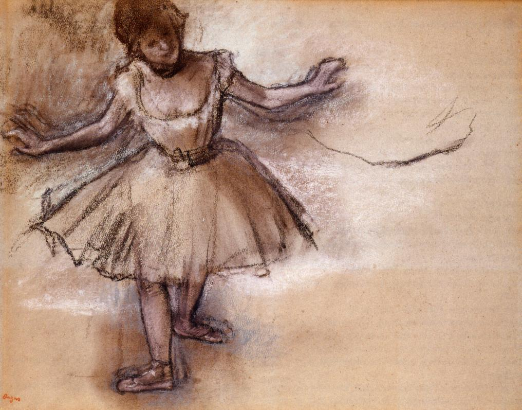 Dancer 1877 - Edgar Degas