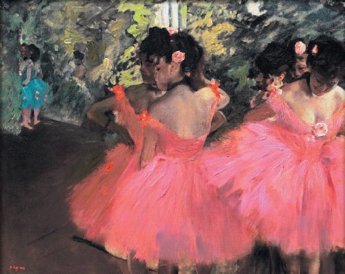 Dancers in Pink - Edgar Degas