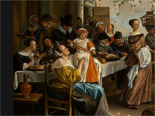 Dancing Couple - Jan Steen