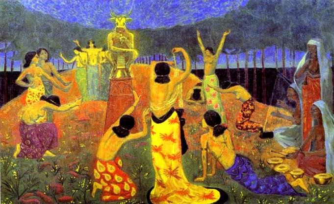 Daughters of Pelichtim - Paul Serusier