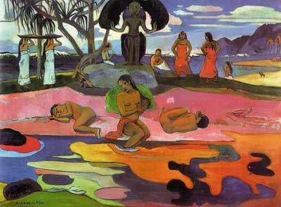 Day of God (Mahana no atua) - Paul Gauguin