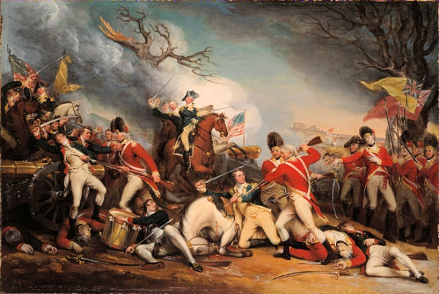 Death of General Mercer at the Battle of Princeton - John Trumbull