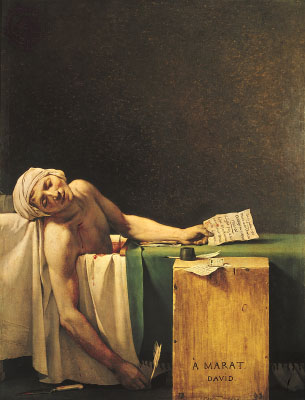 The Death of Marat - Jacques Louis David