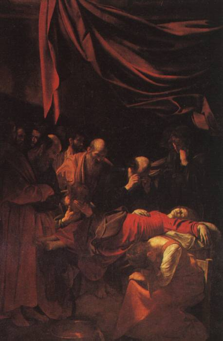 Death of the Virgin - Caravaggio