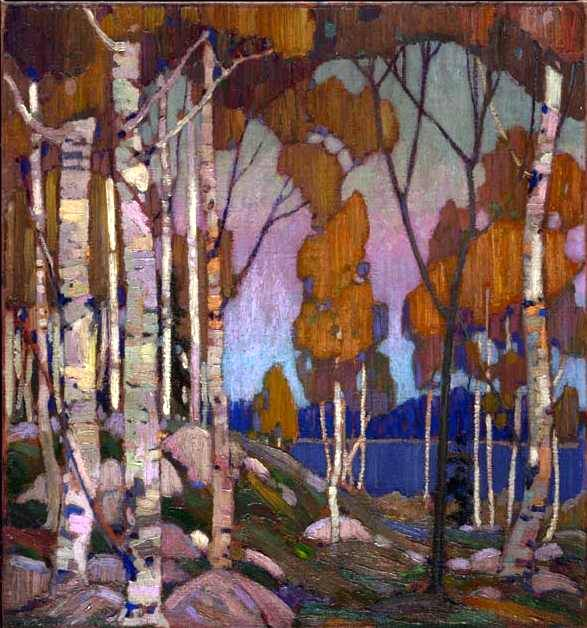 Decorative Landscape Birches - Tom Thomson