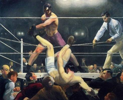 Dempsey and Firpo - George Bellows