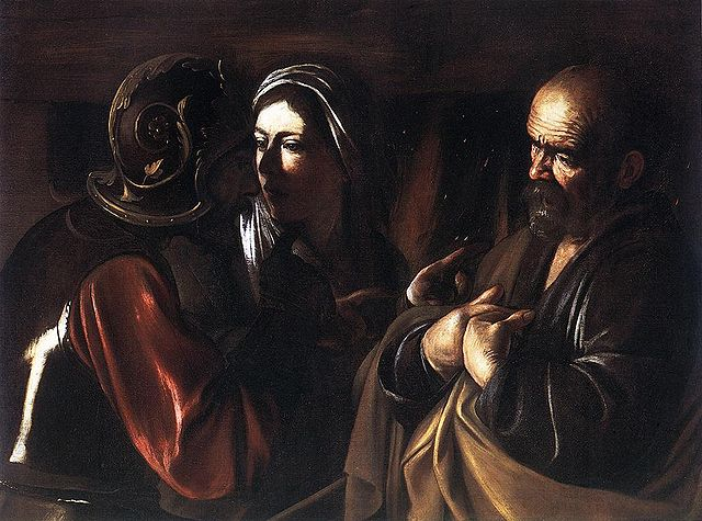 Denial by Peter - Caravaggio