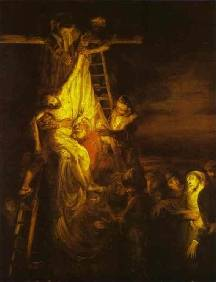 Descent from the Cross III - Rembrandt van Rijn