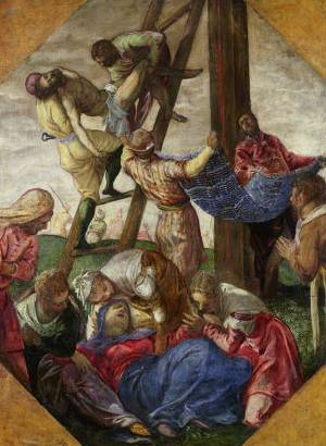 Descent from the Cross - Jacopo Robusti Comin Tintoretto