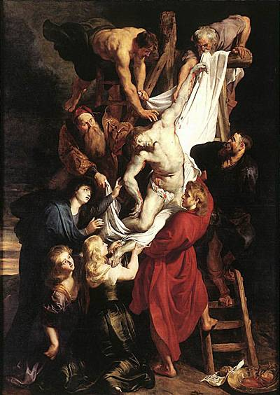 Descent from the Cross - Peter Paul Rubens
