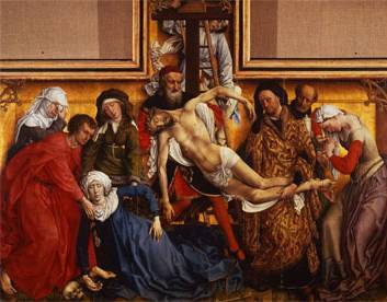 Descent from the Cross - Rogier van der Weyden