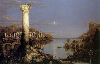 Desolation Course of Empire - Thomas Cole