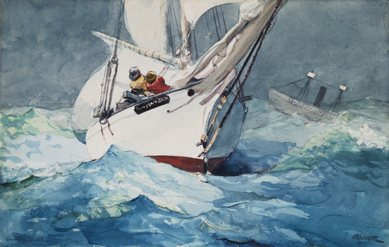Diamond Shoal - Winslow Homer