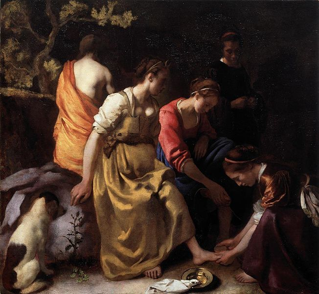 Diana and Her Companions - Jan Vermeer