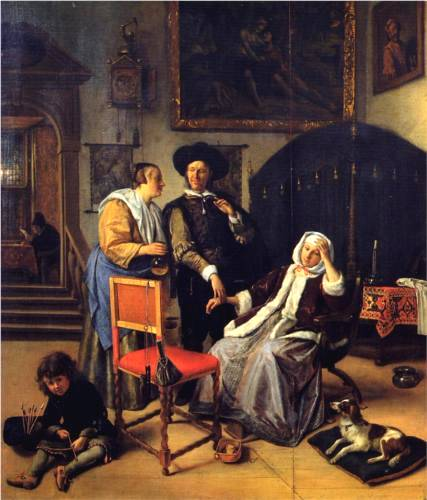 Doctor's Visit - Jan Steen