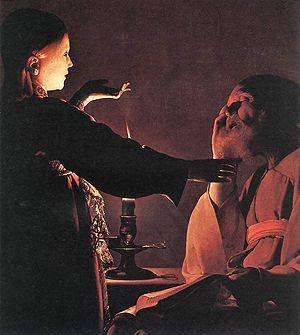 Dream of St Joseph - Georges de La Tour