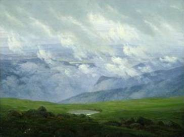 Drifting Clouds - Caspar David Friedrich