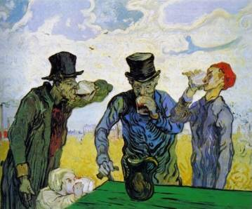 The Drinkers - Vincent van Gogh