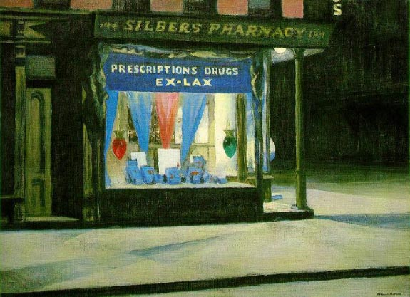 Drug Store - Edward Hopper