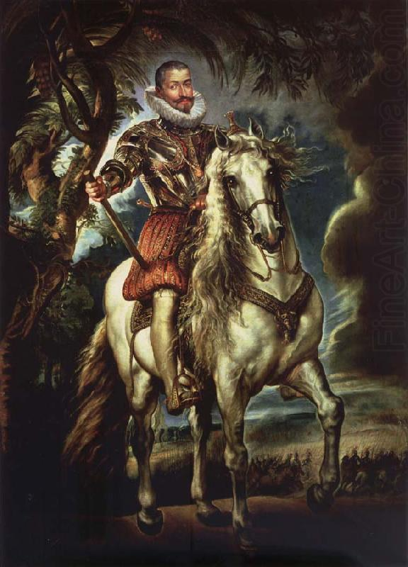 Equestrian Portrait of the Duke of Lerma - Peter Paul Rubens