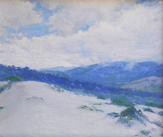 Dunes and Hill, Carmel - Guy Rose