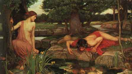 Echo & Narcissus - John William Waterhouse