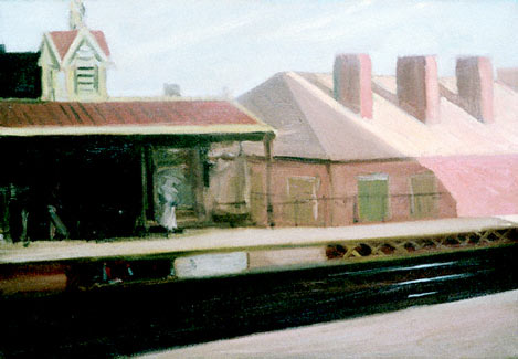 El Station - Edward Hopper