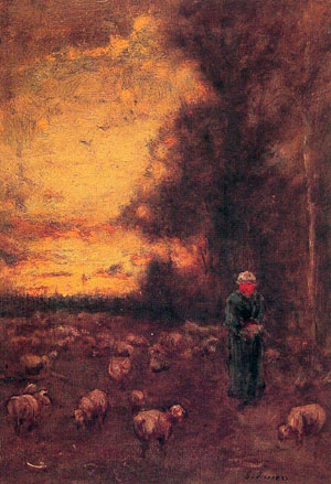 End of Day Montclair - George Inness