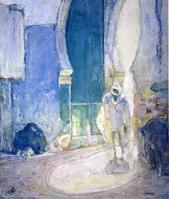 Entrance to the Casbah (Gateway, Tangiers) - Henry Ossawa Tanner
